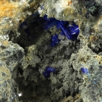 Linarite With Cerussite