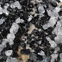 Rhodochrosite Sphalerite & Calcite