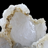 Quartz With Dolomite & Calcite