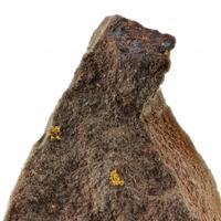 Gold On Hematite