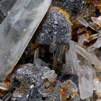 Galena Psm Chalcopyrite & Quartz