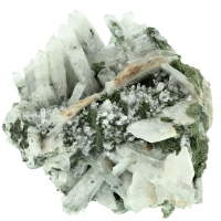 Quartz With Chlorite & Calcite