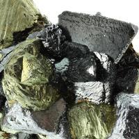 Chalcopyrite Galena & Sphalerite