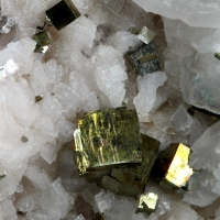Calcite With Dolomite & Pyrite