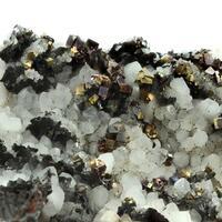 Pyrite With Arsenopyrite & Quartz