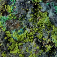 Vésigniéite Malachite & Chrysocolla