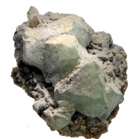 Fluorite Quartz & Molybdenite