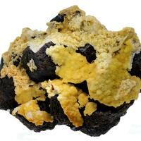 Hemimorphite & Quartz On Sphalerite
