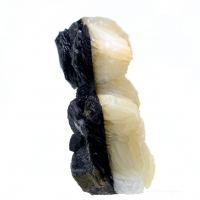 Calcite With Boulangerite Inclusions