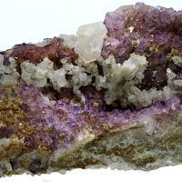 Fluorite Hemimorphite & Calcite