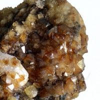 Childrenite Siderite & Quartz