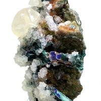 Calcite & Malachite Psm Azurite