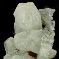 Apophyllite On Thomsonite-Ca