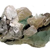 Fluorite Tourmaline Topaz & Lepidolite