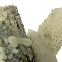 Orthoclase Quartz & Gilbertite