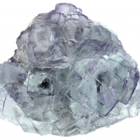 Fluorite With Boulangerite Inclusions