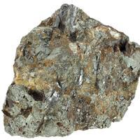 Wolframite With Arsenopyrite & Siderite