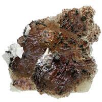 Fluorite Dolomite Pyrite & Aragonite