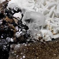 Sphalerite With Barytocalcite & Baryte