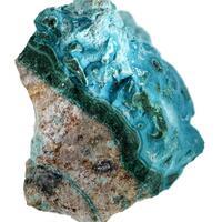 Chrysocolla Malachite & Shattuckite
