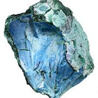 Plancheite With Malachite & Chrysocolla