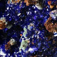 Azurite Pyromorphite & Calcite
