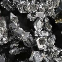 Native Bismuth & Safflorite With Tennantite