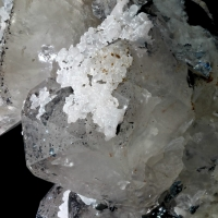 Quartz On Dolomite & Hematite