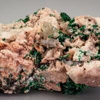 Brochantite & Cerussite