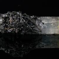 Beryl Var Aquamarine With Schorl
