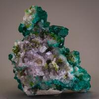 Dioptase Conichalcite & Calcite