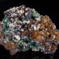 Mimetite Malachite Cuprite & Limonite