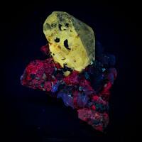 Cerussite Baryte & Calcite