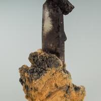 Quartz Schorl Chlorite On Feldspar