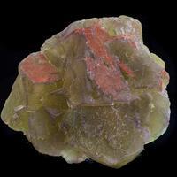 Fluorite & Ferruginous Quartz