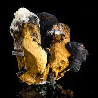 Aquamarine Schorl Siderite Microcline & Hyalite