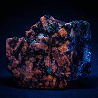 Sodalite Natrolite Hackmanite & Aegirine