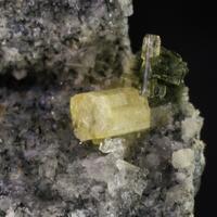 Fluorapophyllite & Tuperssuatsiaite