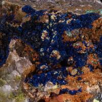Azurite Khorixasite & Namibite