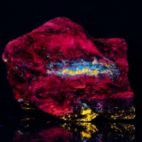Calcite Sphalerite & Hydrozincite