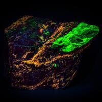 Willemite Cleiophane & Rhodonite