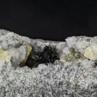 Fluorapophyllite Aegirine & Analcime