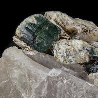 Elbaite Tourmaline & Quartz