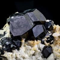 Schorl Tourmaline Feldspar & Hyalite