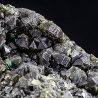Olivenite Malachite & Plancheite