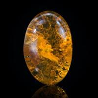 Fire Opal Kaolinite & Quartz