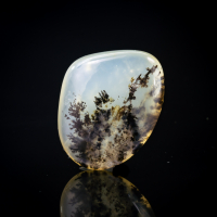Opal With Manganese Dendrites