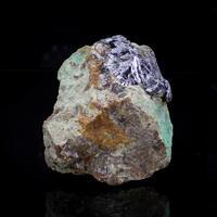Molybdenite Malachite & Powellite