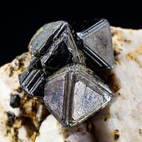 Magnetite On Orthoclase