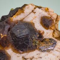 Andradite Melanite Magnetite & Olivine